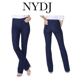 NYDJ Dark Wash Barbara Bootcut Jeans